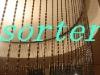 sorter fashional  metal hollow beads curtain