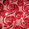 spangle tape embroidery fabric