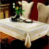 special pvc lace table cloth