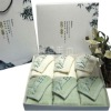 stain-grade bamboo fiber face towels