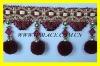 stock pompon tassel fringe