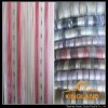 stripe organza curtain fabric