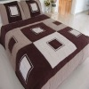 suede square patchwork quilt comforter set