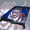 super soft polyester animal printed mink blanket 200*240cm 4.5kg