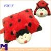 super soft red ladybug pillow pet cushion