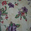 sya217 flower printed pvc artificial imitation leather fabric