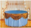 table skirt /table cover/ banquet tablecloth