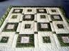 taffeta patchwork bedding /quilt