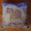 tapestry jacquard cushion cover chair cushion animal cushion ,home textile,elephant design cushion cover
