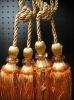 tassel,curtain tassel,tieback rope,curtain accessory,tieback ball