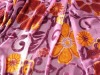 thin polyester and cotton jacquard curtain fabric