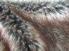 three tone fake rabbit fur