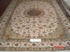 top quality handknotted pure silk rug