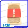 transparent anti slip pad with rugged surface