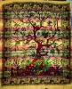 tree life printed bedsheets