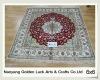 turkish 6x6 chinese handmade spun silk floor carpet