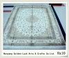 turkish handmade silk carpet 8x10