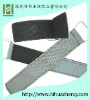 velcro webbing strap with buckle