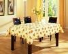vinyl table cover, pvc tablecloth