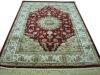 viscose area carpet, Wilton machine made