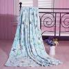 warmful and beautiful printed coral fleece blanket