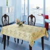 waterproof printed oblong christmas pvc table runner