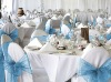wedding banquet organza chair cover sashes (X-4027)