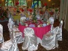 wedding chair cove satin universal chair cover for banquet