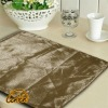 wheat modern bright yarn surface PU linen back table placemat