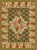 woollen woven rug in Axminster