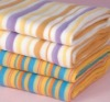 yarn dyed cotton reactive printed bath towel