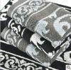 yarn dyed jacquard cotton towel fabric