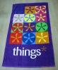 yarn dyed jacquard velvet beach towel