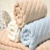 zero-twist yarn bamboo towels